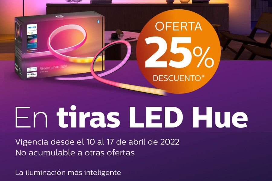 Oferta Philips Hue Kit GU10 White and Color