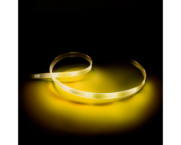 Philips Hue Lightstrip Plus: Tira de luz LED inteligente (1m) - Iluminación Blanca y de color 2