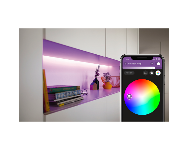 Philips Hue Lightstrip Plus: Tira de luz LED inteligente (1m) - Iluminación Blanca y de color 4